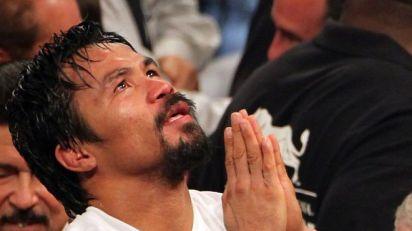 pacquiao praying